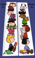 Peanuts Gang Laminated Growth Chart - Chart #2