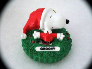 SNOOPY GROOVY ORNAMENT