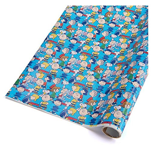 Peanuts Gang Everyday Gift Wrap Roll - 40 Sq. Feet!