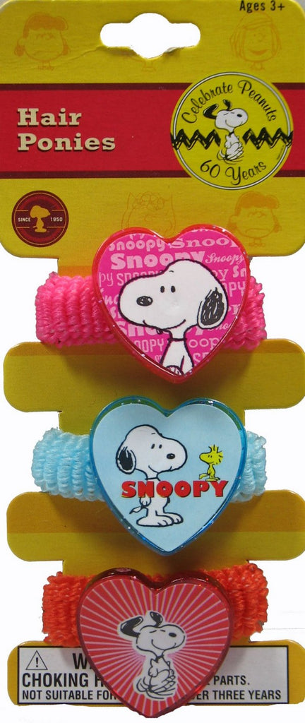 Snoopy Hair Bands (Pony Tail Holders)
