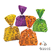 Peanuts Gang Halloween Poly Treats Bags