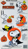 Snoopy Halloween Window Cling Set