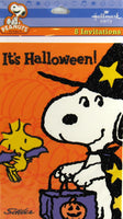 Peanuts Gang Halloween Party Invitations