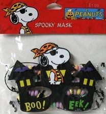 Haunted House Halloween Mask + Candy