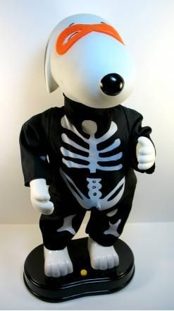 Hip Swinging Masked Snoopy Animated and Musical Doll