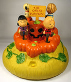 Peanuts Gang Animated and Musical Dancing Halloween Pumpkin