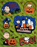 Peanuts Gang Great Pumpkin Halloween Window Clings