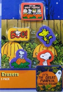 It's The Great Pumpkin Eraser Set