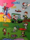 Peanuts Gang Golfing Stickers