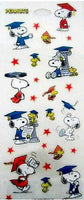 Peanuts Gang Graduation Stickers