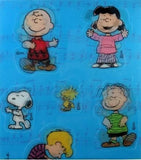 Peanuts Gang Movee-Style Stickers