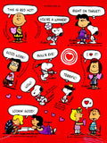 Peanuts Gang Rewards Stickers