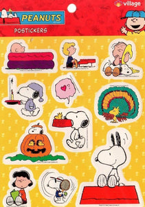 Imported Hallmark Stickers - Peanuts Characters