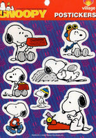 Imported Hallmark Stickers - Snoopy Personas