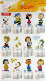 Snoopy 2002 Monthly Calendar stickers