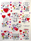 Peanuts Gang Valentine's Day Rewards Stickers