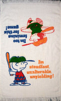 Charlie Brown and Lucy Vintage Hand Towel