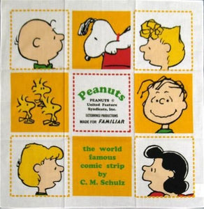Peanuts Gang Large Handkerchief
