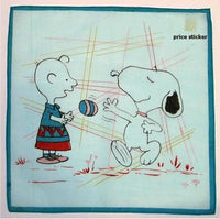 Charlie Brown and Snoopy Handkerchief
