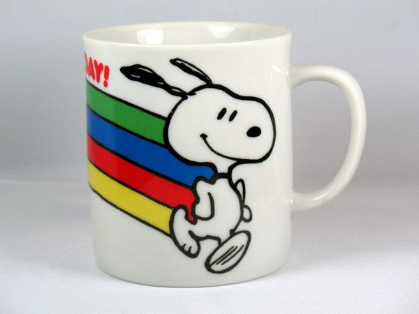 Snoopy Rainbow Mug - This Has Been A Happy Day
