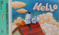 Snoopy Note Cards -