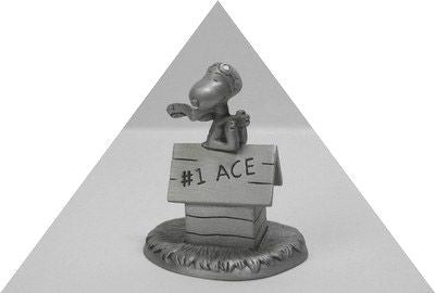 Flying Ace Pewter Figurine