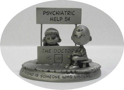 Being There (Psych Booth) Pewter Figurine