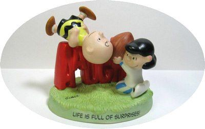 Hallmark Figurine:  Fall Ball