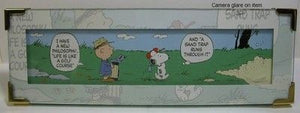 Hallmark Comic Strip:  Golf is life