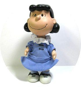 Hallmark Limited Edition Jointed Porcelain Figurine:  Lucy
