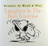 Hallmark Hardback Book: Laughter Is The Best Exercise