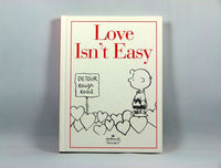 Hallmark Hardback Book: Love isn't easy
