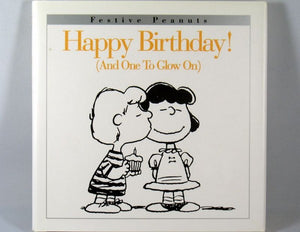 Hallmark Hardback Book: Happy Birthday (And One To Glow On)