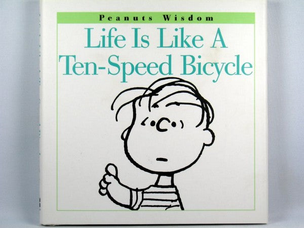 Hallmark Hardback Book: Life Is Like a 10-Speed Bicycle