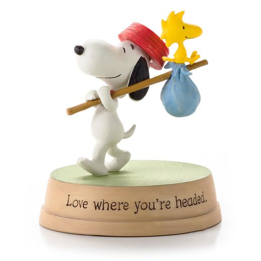 Hallmark Figurine:  Love Where You're Headed