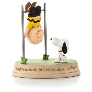 Hallmark Charlie Brown and Snoopy Happiness Figurine