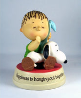 60th Anniversary Hallmark Figurine: Linus and Snoopy