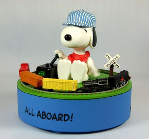 Hallmark Animated Figurine: On The Right Track