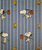 Vintage Peanuts Gang Fitted Sheet - Snoopy Hobo
