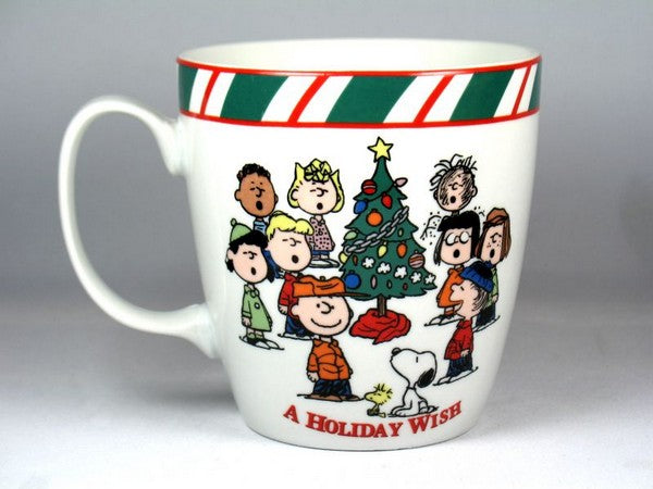 Peanuts Gang Christmas Mug - A Holiday Wish