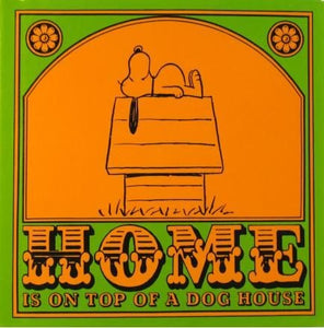 """Happiness Is..."" Book Series - Home Is On Top Of A Dog House"