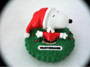 SNOOPY HEART BREAKER ORNAMENT