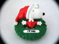 SNOOPY I (HEART) YOU ORNAMENT