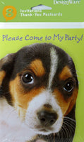 Snoopy Beagle Party Invitations and Thank You Cards Set