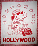 Joe Cool Hollywood Director Throw / Blanket