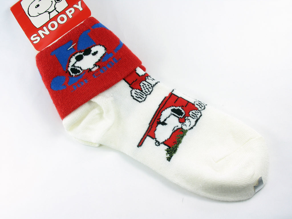 Joe Cool Crew-Length Socks With Cuff