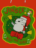 Jingle Bells Christmas Gift Bag