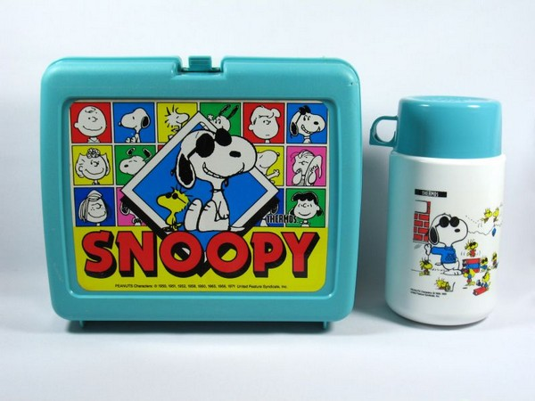 Joe Cool Lunch Box + Thermos Bottle