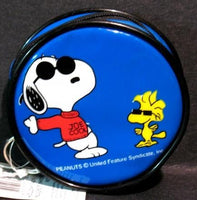 Joe Cool and Woodstock Vinyl Key Chain Purse