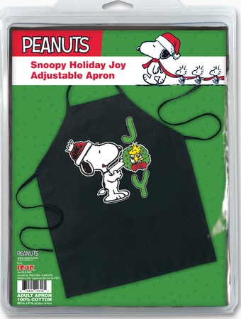 Snoopy JOY Holiday Apron